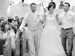 Paralyzed Bride Learns to Walk Down Aisle for Wedding