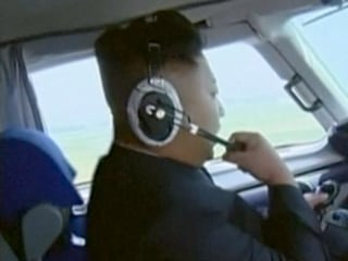For Real?! North Korea's Kim Jong Un Pilots Plane