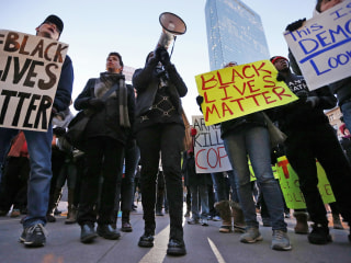 #BlackLivesMatter Protests Held Amid Parties on New Year's Eve