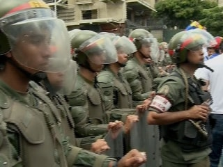 Tensions Rise as Thousands of Venezuelans March in Protest