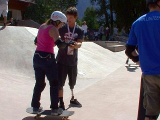 Amputee Snowboarder's Grit Inspires Others to Compete