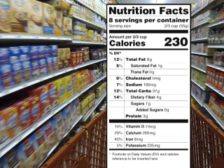 FDA Wants More Detail About Sugar on Food Labels