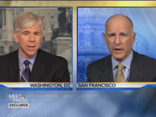 MTP Preview: Gov. Jerry Brown talks Marijuana