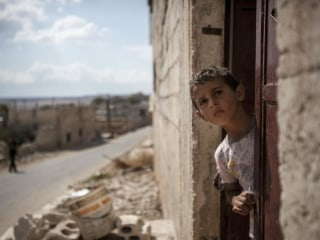 Children Caught in Syria's Brutal War Struggle to Find Comfort