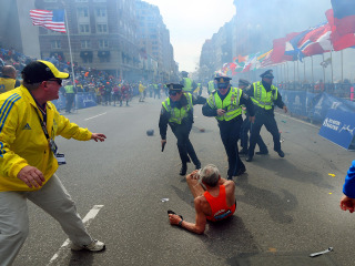 Behind the Lens: Iconic Photo from the Boston Marathon Attack