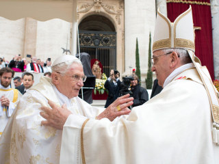 Rare Moment Unfolds at Papal Canonization Ceremony