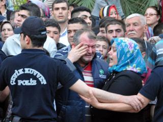 Concern After Fire Traps Turkish Miners Underground