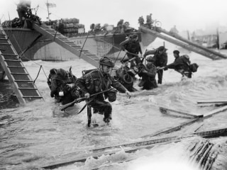 From the Vault: Watch Footage of Soldiers Invading Normandy