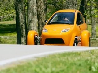 Three-Wheeled Cars Headed to a Highway Near You