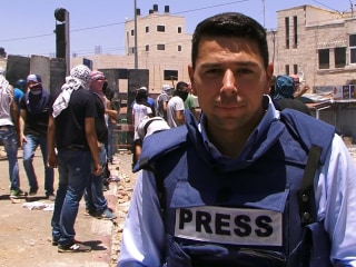 Watch: NBC Team Caught in Crossfire in East Jerusalem