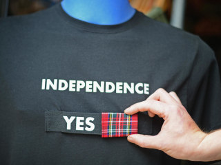 Meet the Americans Campaigning For Scotland's Independence