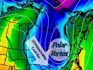 Polar Vortex Escape: Arctic Ice Melt Lets Cold Air Flow South: Study