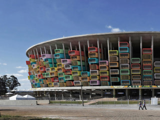 Brazil's World Cup Stadiums, Re-imagined as Housing Units