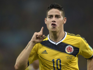 Colombia's Rodriguez to Complete Real Madrid Move Tuesday