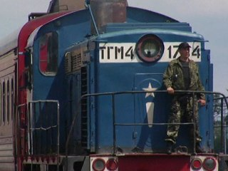 Train Carrying MH17 Victims' Remains Arrives in Kharkiv