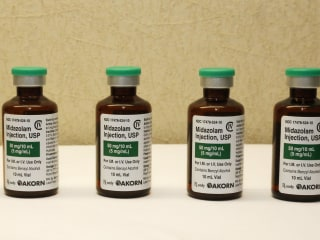Drug-Maker Akorn Bans Sedative Midazolam For Executions
