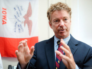Rand Paul Tests Message in Iowa