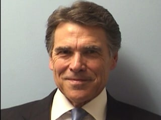Texas Governor Rick Perry Turns Himself in for Corruption Charges