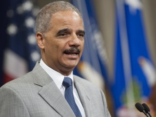 Michael Brown Killing: Attorney General Eric Holder Arrives for Trip to Ferguson