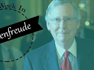 This Week in Schadenfreude: McConnell's Shutdown Shout-Out