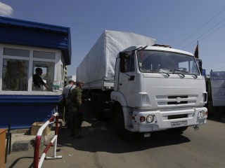 All Vehicles in Russia Aid Convoy Have Left Ukraine: OSCE