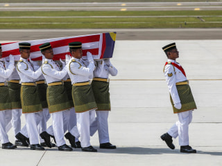Malaysian Flight MH17 Victims Return to Kuala Lumpur