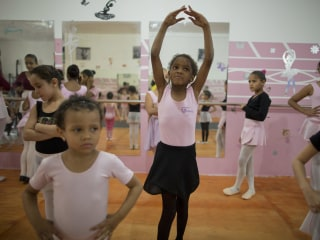 With Ballet, Brazilian Girls Leap from Poverty to Plies