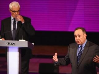 Scotland's Leader Alex Salmond Wins Debate on Independence Vote