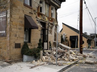 Small Earthquake, Aftershocks Shake California's Napa Region