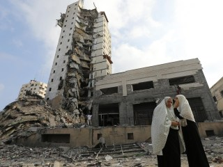 50-Day Mark: Airstrikes Hit Gaza Before Ceasefire