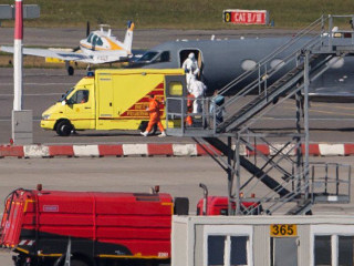Ebola Patient Arrives in Germany for Treatment