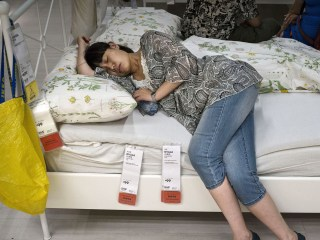 Nightmare or a Dream? Sleep in an IKEA Showroom