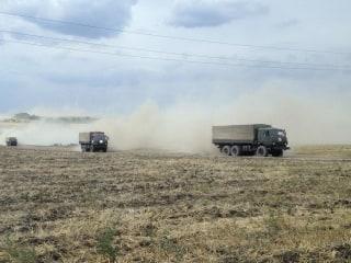 Satellite Images Reveal Russian Military Vehicles Inside Ukraine: NATO