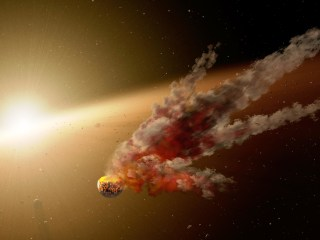 Wham! Planetary Impact Detected in Faraway Star System