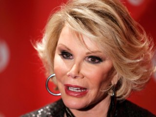 Joan Rivers 'Resting Comfortably' at Mount Sinai in New York City