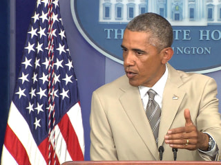 Obama on ISIS: 'We Don't Have a Strategy Yet'