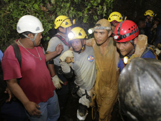 Rescuers Free 11 of 24 Nicaraguan Miners Trapped By Landslide