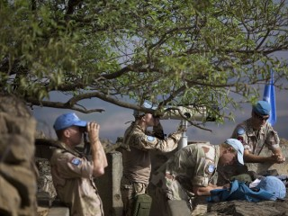 Nearly Three Dozen Trapped U.N. Peacekeepers Rescued Safely in Golan