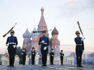Perfect Placement: Moscow Hosts Military Music Festival