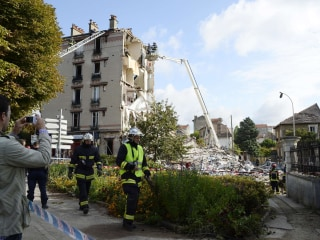 Two Killed as Explosion Collapses Building in Paris Suburb
