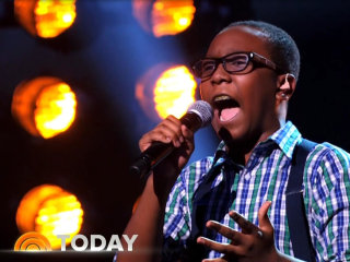 Amazing 12-Year-Old Singer Wows 'America's Got Talent'