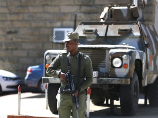 Lesotho's Prime Minister Flees Country After Military Uprising