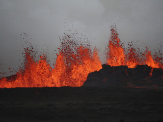 Iceland Issues Aviation Alert After Bardarbunga Lava Eruption