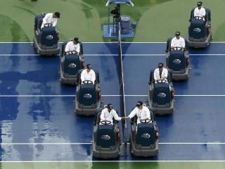Heavy Rain Halts US Open