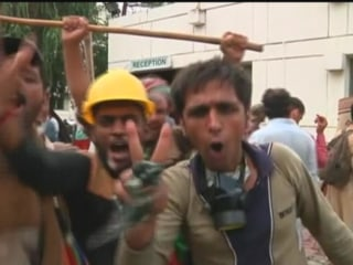 Protesters Force Pakistan's State TV Off the Air