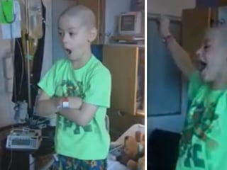 'I Am Going Home!' Cancer Patient's Priceless Reaction