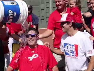 Man Who Inspired Ice Bucket Challenge, Pete Frates, Welcomes Baby Girl