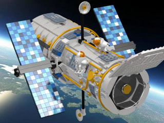 10,000 Fans Tell Lego to Make a Hubble Space Telescope Kit