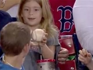 Act of Kindness: Fan, 12, Gives Foul Ball to Little Girl