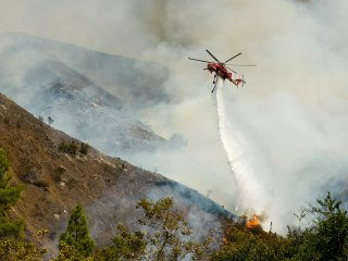 California Firefighters Fighting More Than Fire out West